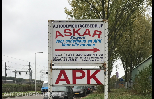 Askar Auto-Demontagebedrijf